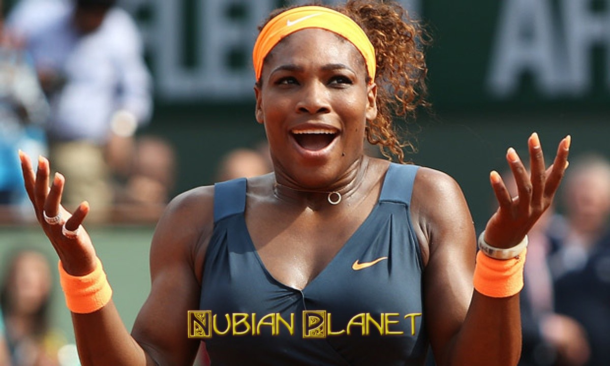 serena williams beautiful black woman
