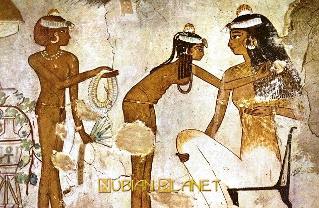 Ancient Egypt Nubian people