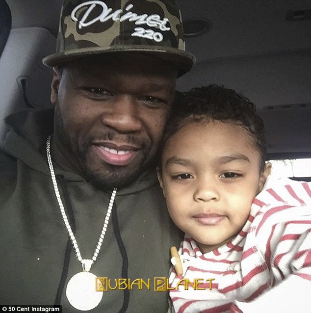 Cent hates on his own son prefers mixed sons