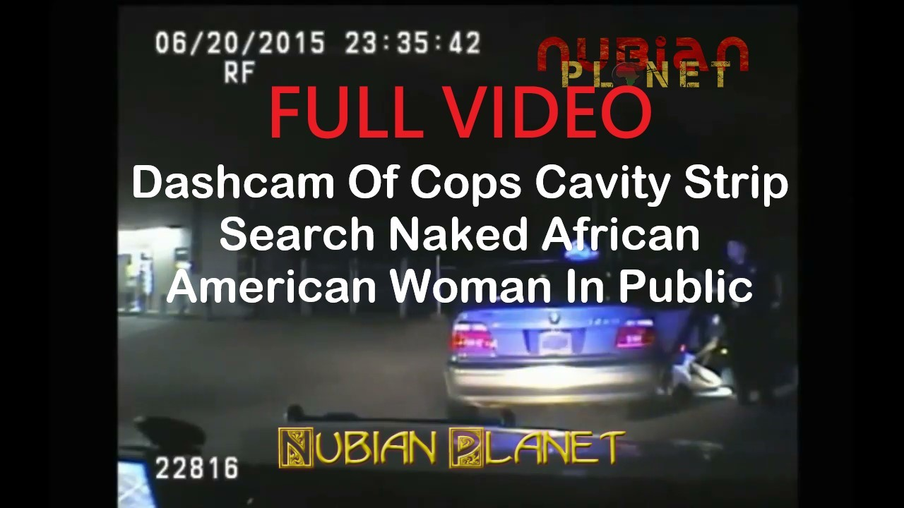 Dashcam Showing Cops Cavity Strip Search Woman at Texaco petrol station in public Moment