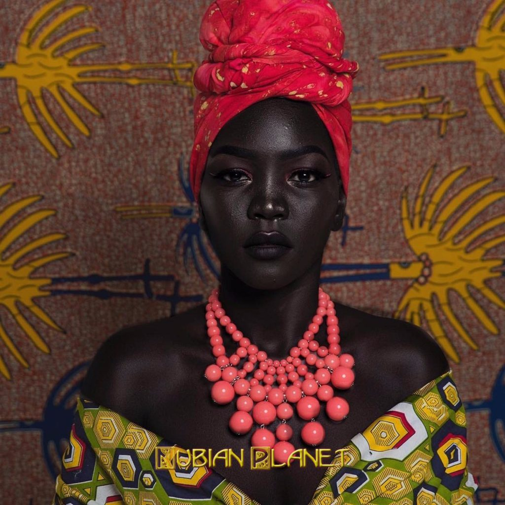 Nyakim Gatwech Queen Of Dark Beautiful Black Woman