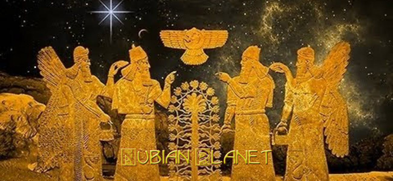 black annunaki advanced gods from outer galaxy