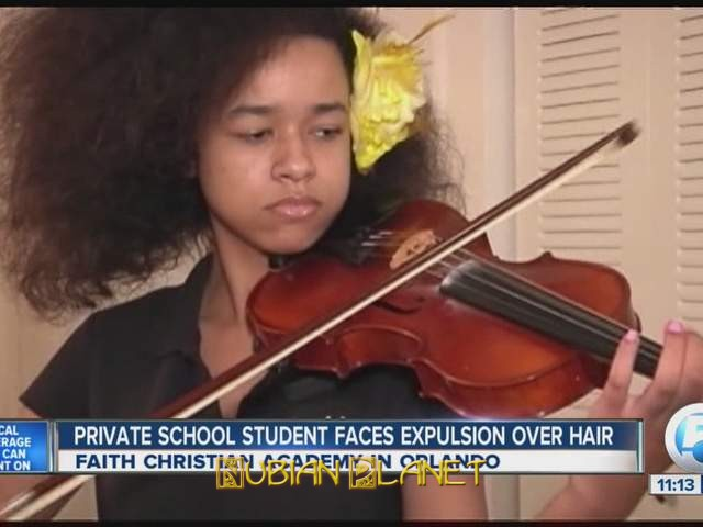 black honors student expulsion natural hair
