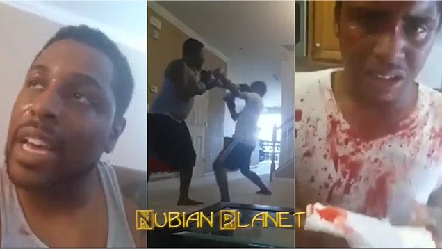 idiot father beats son bloody posts on social media