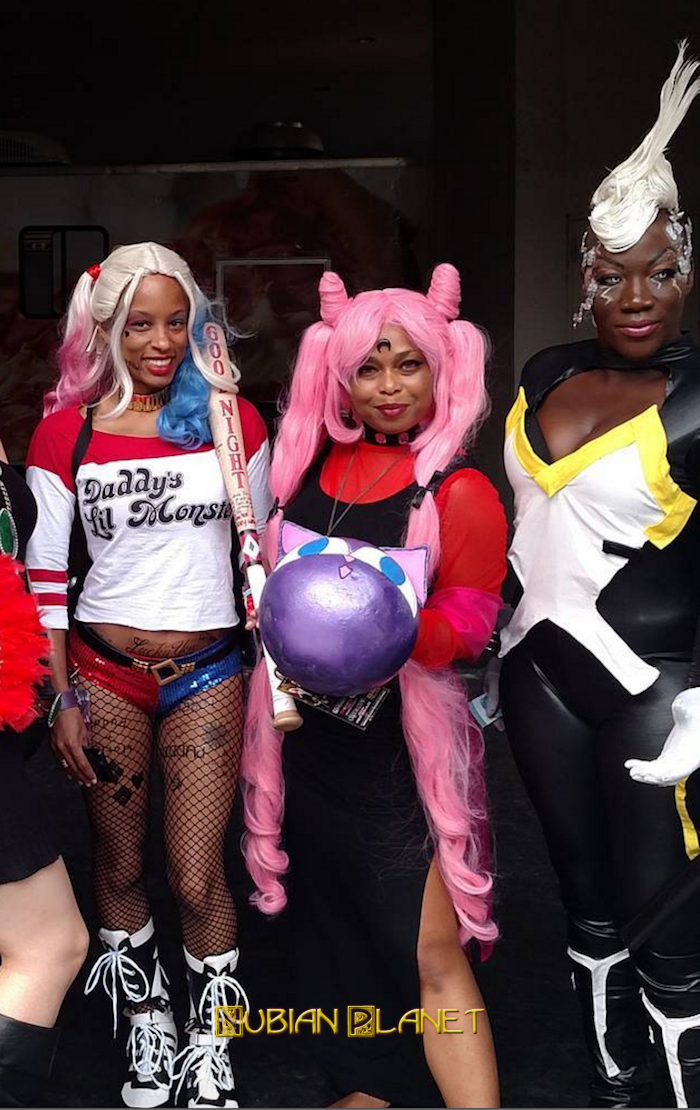 Black Cosplay Sexy Black Women As Superheroes And Villains 34