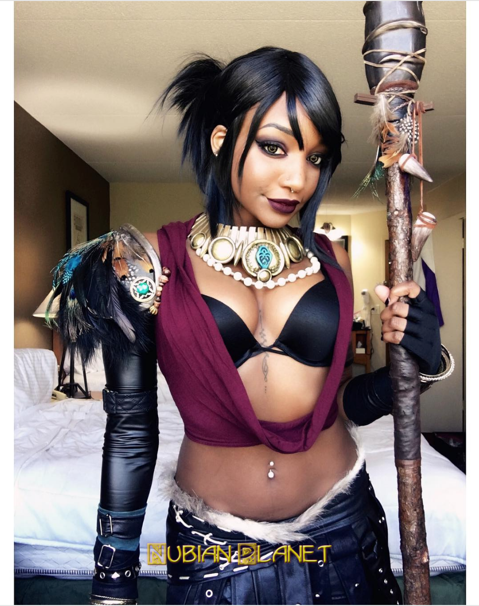 Black Cosplay Sexy Black Women As Superheroes And Villains 66