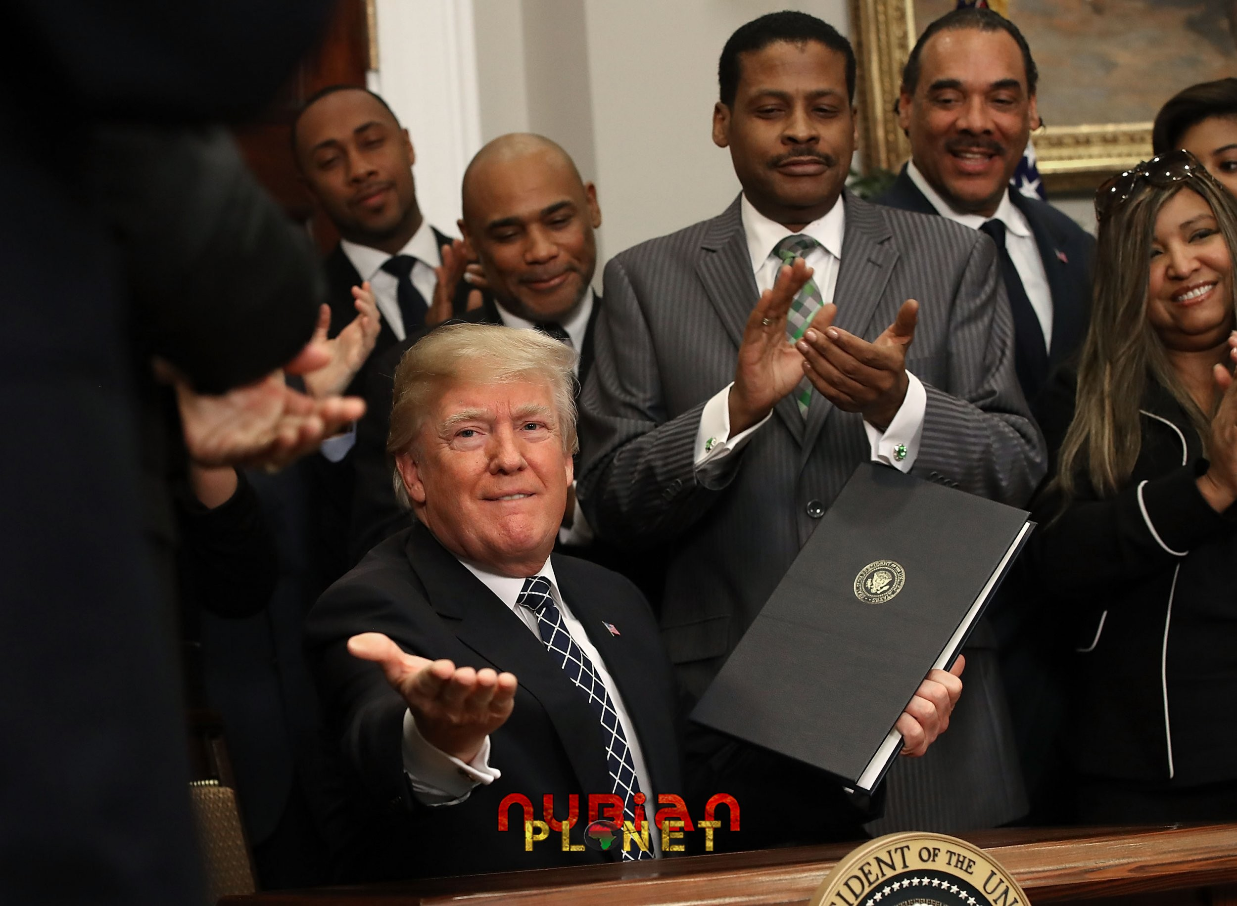 trumpism support by black community