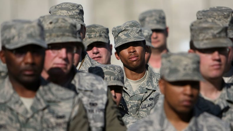 black troops face racism in military