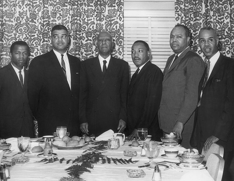 martin luther king black civil rights activists